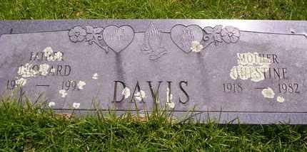 DAVIS, CHESTINE - Howell County, Missouri | CHESTINE DAVIS - Missouri Gravestone Photos
