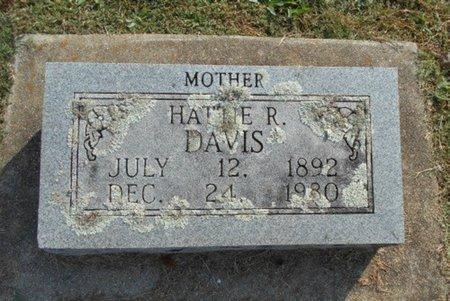 DAVIS, HATTIE R. - Howell County, Missouri | HATTIE R. DAVIS - Missouri Gravestone Photos