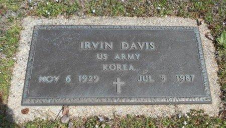 DAVIS, IRVIN VETERAN KOREA - Howell County, Missouri   IRVIN VETERAN KOREA DAVIS - Missouri Gravestone Photos