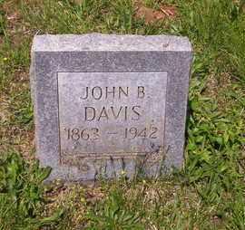 DAVIS, JOHN B - Howell County, Missouri | JOHN B DAVIS - Missouri Gravestone Photos