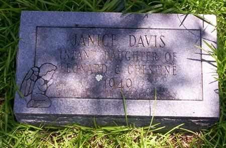DAVIS, JANICE - Howell County, Missouri | JANICE DAVIS - Missouri Gravestone Photos