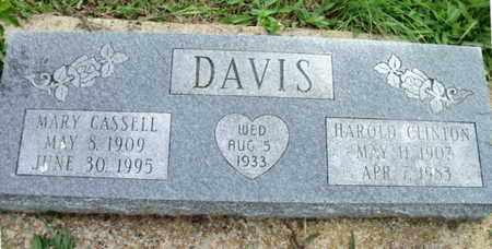 DAVIS, HAROLD CLINTON - Howell County, Missouri | HAROLD CLINTON DAVIS - Missouri Gravestone Photos
