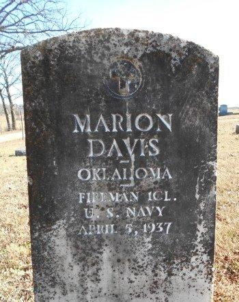DAVIS, MARION VETERAN - Howell County, Missouri | MARION VETERAN DAVIS - Missouri Gravestone Photos