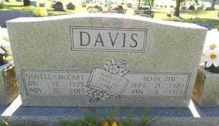 "DAVIS, ALVIN WILLARD ""JIM"" - Howell County, Missouri | ALVIN WILLARD ""JIM"" DAVIS - Missouri Gravestone Photos"