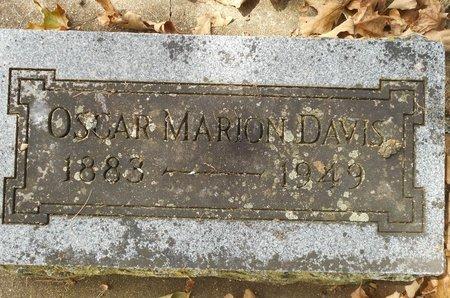 DAVIS, OSCAR MARION - Howell County, Missouri   OSCAR MARION DAVIS - Missouri Gravestone Photos