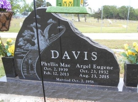 DAVIS, PHYLLIS MAE - Howell County, Missouri | PHYLLIS MAE DAVIS - Missouri Gravestone Photos