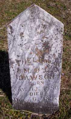 DAWSON, ETHEL - Howell County, Missouri   ETHEL DAWSON - Missouri Gravestone Photos