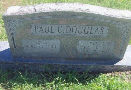 DOUGLAS, PAUL E. C. - Howell County, Missouri   PAUL E. C. DOUGLAS - Missouri Gravestone Photos