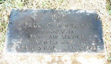 DOUGLAS, PAUL E. C. VETERAN WWI - Howell County, Missouri | PAUL E. C. VETERAN WWI DOUGLAS - Missouri Gravestone Photos
