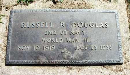 DOUGLAS, RUSSELL ROBERT VETERAN WWII - Howell County, Missouri | RUSSELL ROBERT VETERAN WWII DOUGLAS - Missouri Gravestone Photos