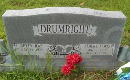 DRUMRIGHT, ALBERT LEWIS - Howell County, Missouri | ALBERT LEWIS DRUMRIGHT - Missouri Gravestone Photos