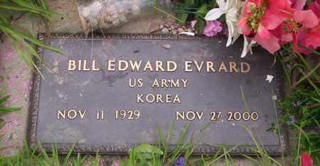 EVRARD, BILL EDWARD VETERAN KOREA - Howell County, Missouri | BILL EDWARD VETERAN KOREA EVRARD - Missouri Gravestone Photos
