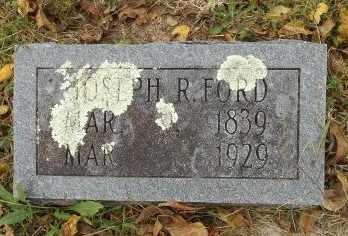 FORD, JOSEPH RANSOM - Howell County, Missouri | JOSEPH RANSOM FORD - Missouri Gravestone Photos