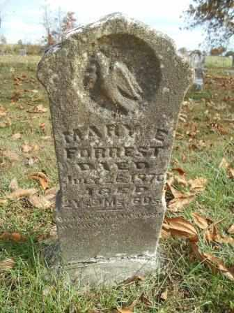 FORREST, MARY E. - Howell County, Missouri | MARY E. FORREST - Missouri Gravestone Photos