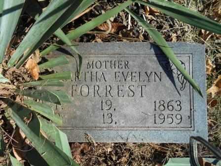 FORREST, MARTHA EVELYN - Howell County, Missouri | MARTHA EVELYN FORREST - Missouri Gravestone Photos