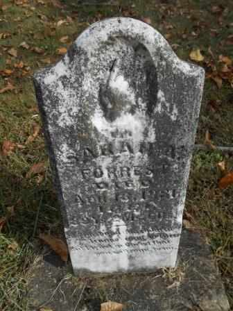 COLE FORREST, SARAH - Howell County, Missouri | SARAH COLE FORREST - Missouri Gravestone Photos
