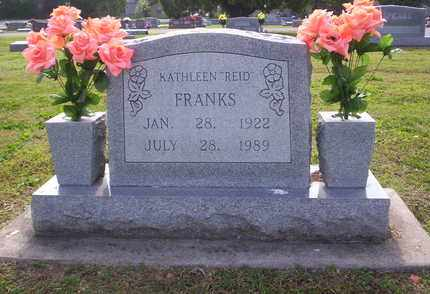 REID FRANKS, ADA KATHLEEN - Howell County, Missouri | ADA KATHLEEN REID FRANKS - Missouri Gravestone Photos
