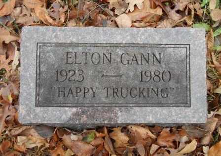 GANN, ELTON JOSHUA - Howell County, Missouri   ELTON JOSHUA GANN - Missouri Gravestone Photos
