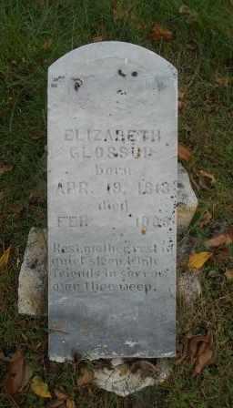 GLOSSUP, ELIZABETH - Howell County, Missouri | ELIZABETH GLOSSUP - Missouri Gravestone Photos