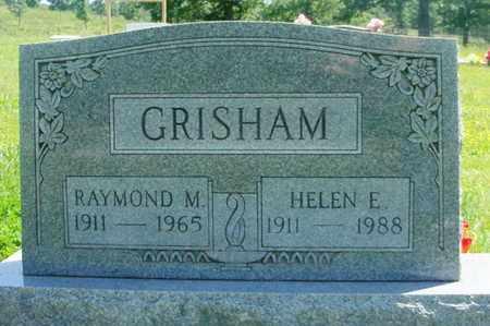 GRISHAM, RAYMOND MILLARD - Howell County, Missouri | RAYMOND MILLARD GRISHAM - Missouri Gravestone Photos
