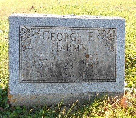HARMS, GEORGE EDWARD - Howell County, Missouri | GEORGE EDWARD HARMS - Missouri Gravestone Photos