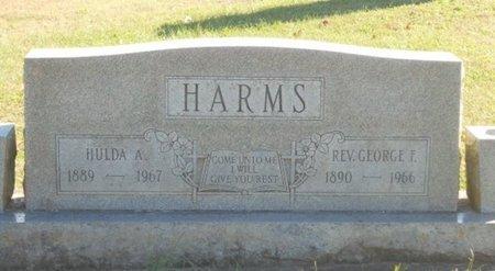 HARMS, HULDA A. - Howell County, Missouri | HULDA A. HARMS - Missouri Gravestone Photos