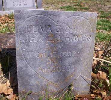 HAYES, ELVA - Howell County, Missouri   ELVA HAYES - Missouri Gravestone Photos