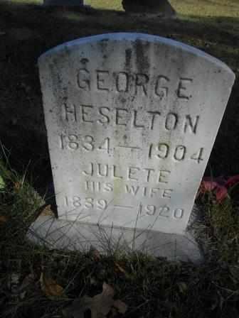 HESELTON, GEORGE F. - Howell County, Missouri | GEORGE F. HESELTON - Missouri Gravestone Photos