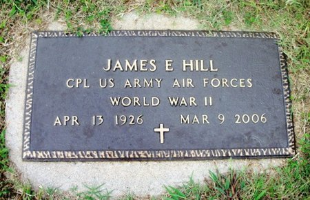 "HILL, JAMES EDWARD ""J.E."" VETERAN WWII - Howell County, Missouri   JAMES EDWARD ""J.E."" VETERAN WWII HILL - Missouri Gravestone Photos"