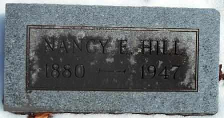 HILL, NANCY ELLEN - Howell County, Missouri | NANCY ELLEN HILL - Missouri Gravestone Photos