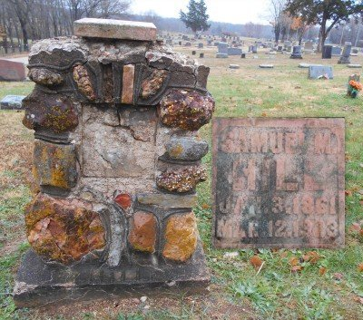 HILL, SAMUEL M. - Howell County, Missouri | SAMUEL M. HILL - Missouri Gravestone Photos