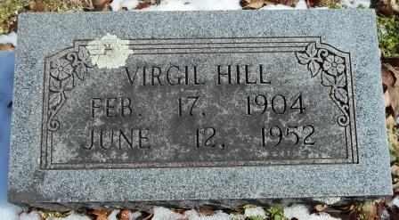 HILL, VIRGIL - Howell County, Missouri   VIRGIL HILL - Missouri Gravestone Photos