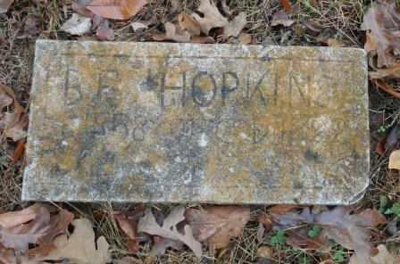 HOPKINS, BENJAMIN F. - Howell County, Missouri   BENJAMIN F. HOPKINS - Missouri Gravestone Photos