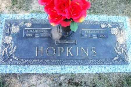HOPKINS, FLOSSYE ELIZABETH - Howell County, Missouri | FLOSSYE ELIZABETH HOPKINS - Missouri Gravestone Photos