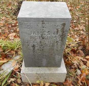 HOPKINS, JAMES - Howell County, Missouri | JAMES HOPKINS - Missouri Gravestone Photos