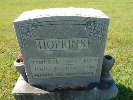 "HOPKINS, JOHN WILLIAM ""BILL"" - Howell County, Missouri | JOHN WILLIAM ""BILL"" HOPKINS - Missouri Gravestone Photos"