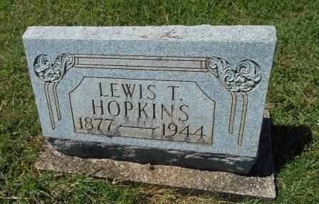 HOPKINS, LEWIS T - Howell County, Missouri   LEWIS T HOPKINS - Missouri Gravestone Photos