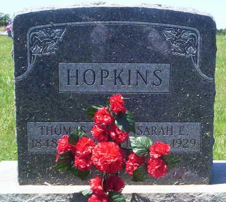 HOPKINS, THOMAS BENTON - Howell County, Missouri | THOMAS BENTON HOPKINS - Missouri Gravestone Photos