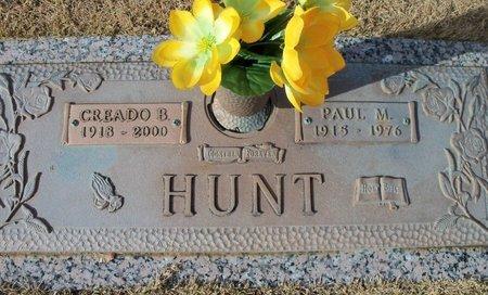 HUNT, CREADO BELLE - Howell County, Missouri | CREADO BELLE HUNT - Missouri Gravestone Photos