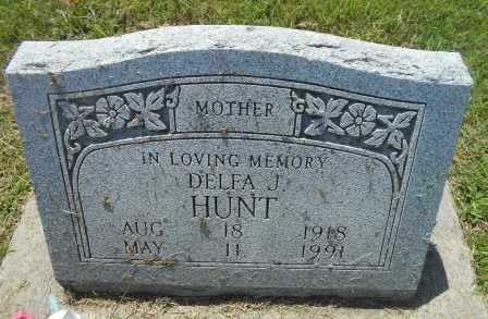 SMITH HUNT, DELFA J - Howell County, Missouri | DELFA J SMITH HUNT - Missouri Gravestone Photos