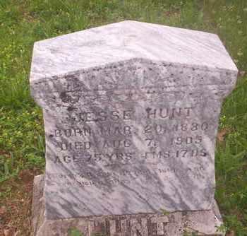 HUNT, JESSE - Howell County, Missouri | JESSE HUNT - Missouri Gravestone Photos