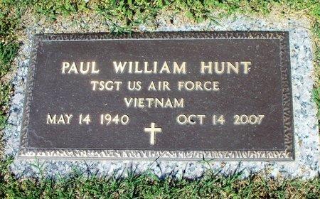 HUNT, PAUL WILLIAM VETERAN VIETNAM - Howell County, Missouri   PAUL WILLIAM VETERAN VIETNAM HUNT - Missouri Gravestone Photos