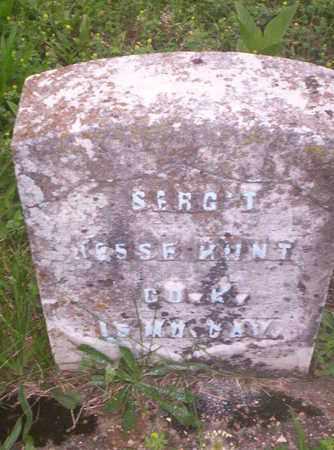 HUNT, JESSE VETERAN CIVIL WAR - Howell County, Missouri | JESSE VETERAN CIVIL WAR HUNT - Missouri Gravestone Photos