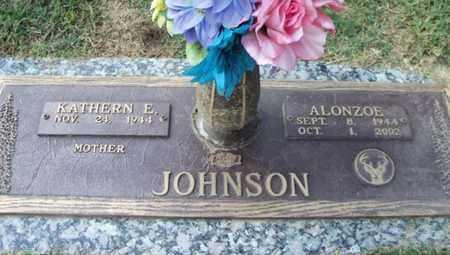 JOHNSON, ALONZOE - Howell County, Missouri | ALONZOE JOHNSON - Missouri Gravestone Photos