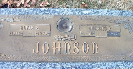 JOHNSON, MILDRED FLORA - Howell County, Missouri | MILDRED FLORA JOHNSON - Missouri Gravestone Photos