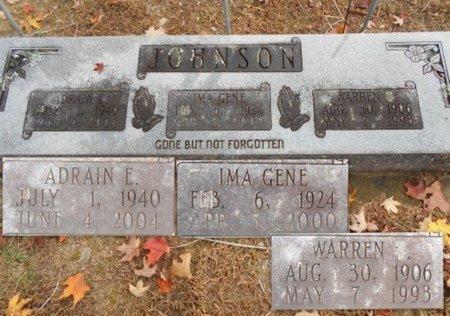 JOHNSON, ADRAIN E. - Howell County, Missouri | ADRAIN E. JOHNSON - Missouri Gravestone Photos