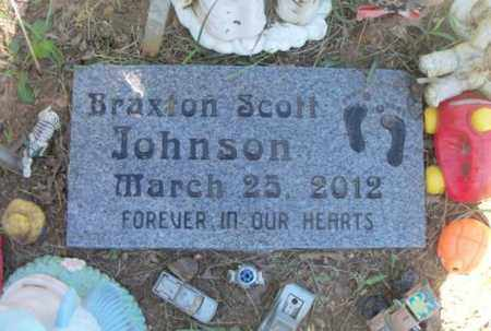 JOHNSON, BRAXTON SCOTT - Howell County, Missouri | BRAXTON SCOTT JOHNSON - Missouri Gravestone Photos