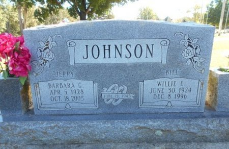 "JOHNSON, BARBARA GERALDINE ""JERRY"" - Howell County, Missouri 