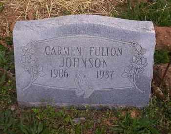 JOHNSON, CARMEN - Howell County, Missouri | CARMEN JOHNSON - Missouri Gravestone Photos