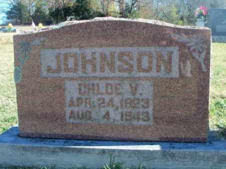 JOHNSON, CHLOE VENITA - Howell County, Missouri | CHLOE VENITA JOHNSON - Missouri Gravestone Photos